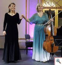 Anne Kaasa e Maria Jose Falcao