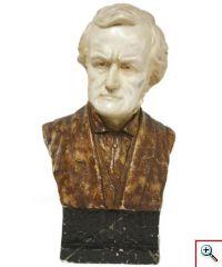 Busto de Richard Wagner (Museu da Música, Inv. n.º MM 1301)