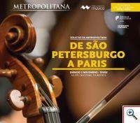 Solistas da Metropolitana - De São Petersburgo a Paris