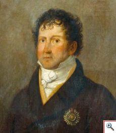 Retrato de João Domingos Bomtempo, pormenor (Museu Nacional da Música, Inv. MNM 1067)