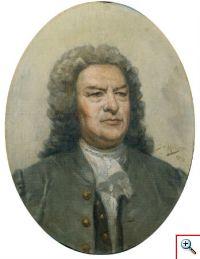 J. S. Bach pintado por José Malhoa (Museu da Música, Inv. MM 1066)