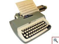 Máquina de escrever música Musicwriter MM 1393