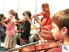 Violinos em Festa