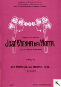 José Vianna da Motta - nos quarenta anos da sua morte